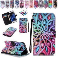 Wallet Card Holder PU Leather Flip Case Cover For Samsung Galaxy Phone