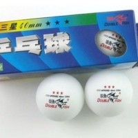 3 star 40MM Olympic Table Tennis White Ping Pong Balls Double Fish Fro