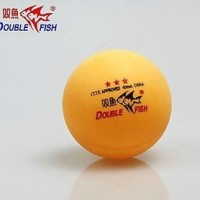 3 stars Double Fish 40MM Olympic Table Tennis Orange Ping Pong Balls