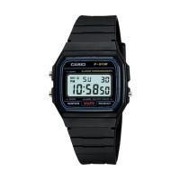 Casio Digital Watch Jam Tangan Unisex - Hitam - F-91W-1DG