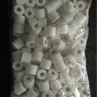 aquarium kolam ikan media filter bio ball keramik ring
