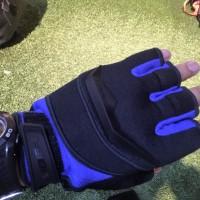 Sarung Tangan Motor Eiger - Half Blue