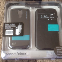 CAPDASE SMART FOLDER SIDER ID BELT SAMSUNG S4 MINI ORIGINAL