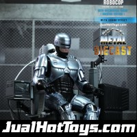 Hot Toys RoboCop & Mechanical Chair Docking Station Hottoys