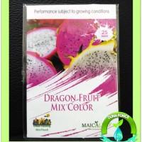 Jual 1 Pack 25 Seed Benih Bibit Buah Naga DRAGON FRUIT Mix Color Maica Leaf Murah