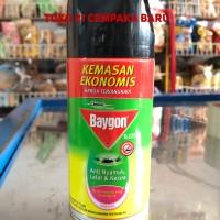 Baygon Aerosol Fresh Scent 275ml Spray Kaleng Anti Nyamuk Kecoa Lalat