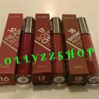 Wardah Exclusive Matte Lip Cream Original - Lipstick Mate - Lipstik