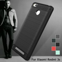Case Xiaomi Redmi 3S / 3 Pro SoftCase Carbon Silicon Casing Hp Covers