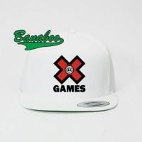 TOPI SNAPBACK X GAMES WH - BANABOO