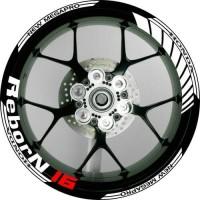 harga Stiker Velg Motor New Honda Megapro Ring 17 Tokopedia.com