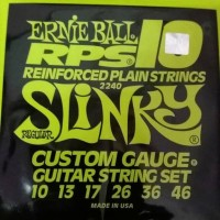 senar gitar listrik ernie ball 10-46 RPS-10 ORIGINAL REINFORCE PLAIN