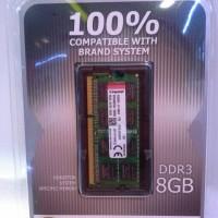 Jual KINGSTON MEMORY NOTEBOOK DDR3L 8GB / 8GB DDR3L 1600MHZ SODIMM Murah