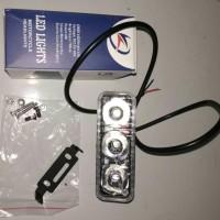 Jual DRL / Fog Lamp / Lampu sorot / Spot LED 3 Mata Murah