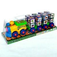 Mainan Edukatif Kereta Block Gambar