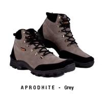 Original Sepatu Boots Pria HUMM3R APRODHITE Grey