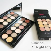 Sleek iDivine Eye Shadow Palette in All Night Long