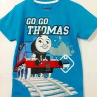 Baju Kaos Karakter Anak Laki-laki Thomas