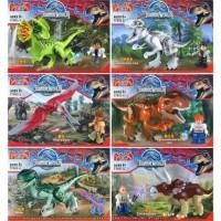 Lego Dino YG 77003 Jurassic World Dinosaurus 1 Set (6 karakter)