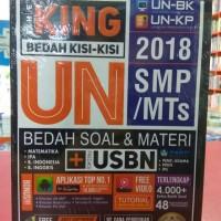 Buku Ori The King Bedah UN 2018 SMP + CD Forum Tentor Indonesia