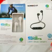 Jual [SONIC GEAR] Blue Sports 1 Earphone Bluetooth Ringan, Snug dan Sporty Murah