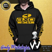 HOODIE JUMPER AXO WITH MICHELIN CASTROL SPARCO