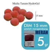 Jual Hidroponik Hidrogel / Hydrogel Warna / RED Merah 5 gr (10400) Murah