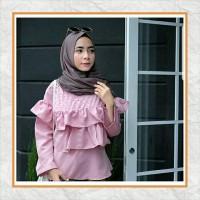 Baju Muslim Wanita / Baju Atasan / Blouse / Burble Top