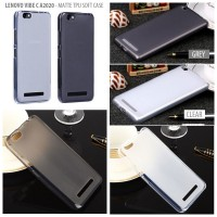Lenovo Vibe C A2020 - Matte TPU Soft Case Kesing Elegan Sarung Hp