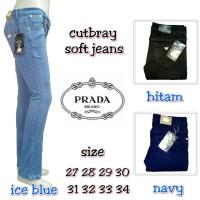 Jual Celana Jeans Cutbray Prada Soft Jeans Murah