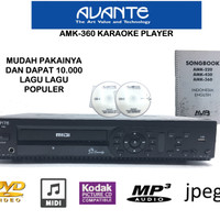 KJB Avante AMK 360 AMK360 karaoke player sln geisler audiobank