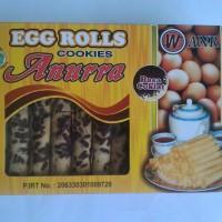 Jual Eggroll Egg Roll Original Coklat Kue Kering Cookies Murah