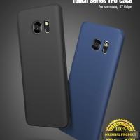 Samsung S6 Edge / S7 Edge- Original Cafele Matte TPU Soft Case Silikon
