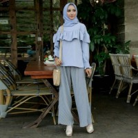 Baju Atasan Blus Wanita Muslim - Aldila Blouse