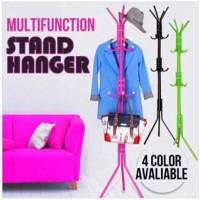 Multifunction stand hanger Tiang berdiri gantungan baju tas - HPR082