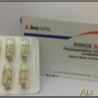 Rhinos SR kapsul flu pilek manjur Termurah