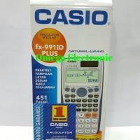 Casio FX 991 ID Plus Scientific Kalkulator 451 Fungsi praktis