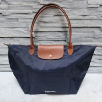 Longchamp Le Pliage Large Tote (Navy)