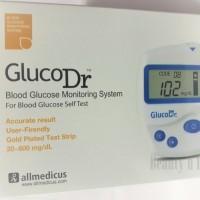 Jual Gluco Dr Biosensor Alat Cek Gula Darah - Putih Murah