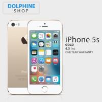 APPLE IPHONE 5S 16GB GOLD GSM GARANSI 1 TAHUN