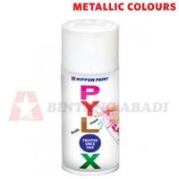 Pylox Cat Semprot Warna Metallic / Finishing Spray Nippon Paint 300 cc
