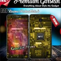Premium Garskin Xiaomi Redmi Note 4 custom & macam tipe hp lainnya
