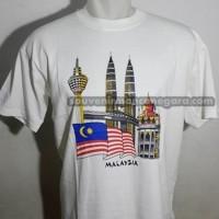 souvenir cenderamata kaos wisata malaysia