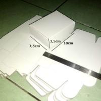 (K.40) Karton 10 x 7,5 x 3,5 Box Kertas Duplex Polos