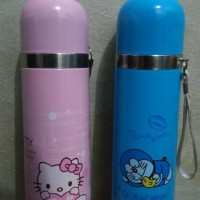 Jual Termos Karakter Stainless Doraemon Hello Kitty Botol Minum 500ml Murah
