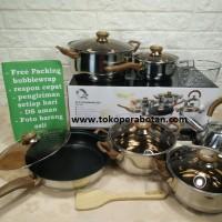 Jual Panci set Eco Cookware Oxone Ox-933 Murah