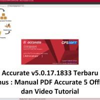 ACCURATE 5 Versi 5.0.15.1790 TERBARU - Software Akuntansi Terbaik