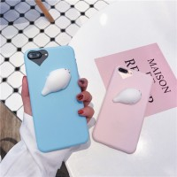 3D Silicon Animal Cases Soft TPU Squishy iPhone 5 5S SE 6 6s 7 plus