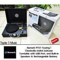harga Numark Pt01 Numark Pt 01 Touring Portable Turntable Tokopedia.com