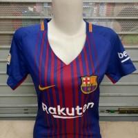 Jersey Baju Barca Barcelona Home Ladies Wanita Cewek 17/18 Grade Ori
