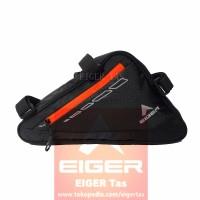 Tas Sepeda EIGER 6315 Cycling Triangle Bag Randonneur - Black